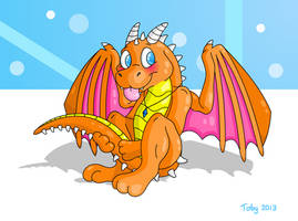 Dragon Commission by Toby512