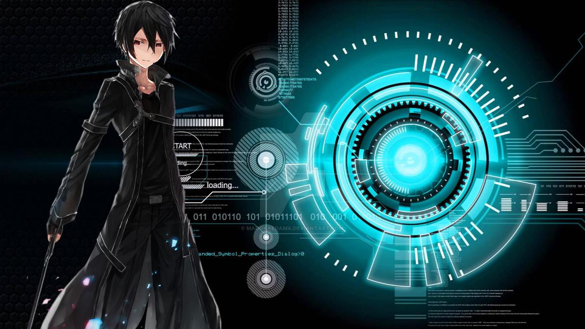 SAO wallpaper 3-3 by madokaedama ...