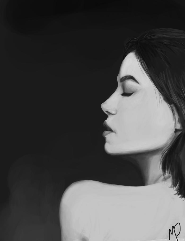 Portrait Study by mydegrade