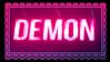 Neon Demon Stamp by StarbitCake