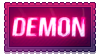 Neon Demon Stamp by StarbitCake