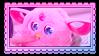Furby Chomp stamp by StarbitCake