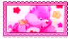 Love A Lot Bear Stamp by StarbitCake