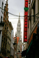 Bruxelles in the street by NickyLarson