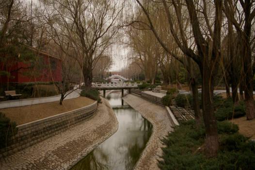 Forbidden City garden China