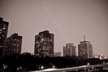 Thunder in Beijing
