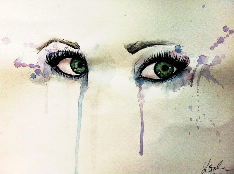 Green Eyes by BaKa-93