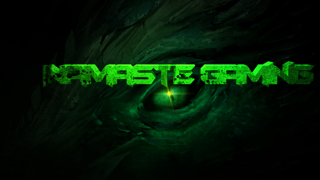 Namaste Gaming dragon wallpaper HD by LuKzVII