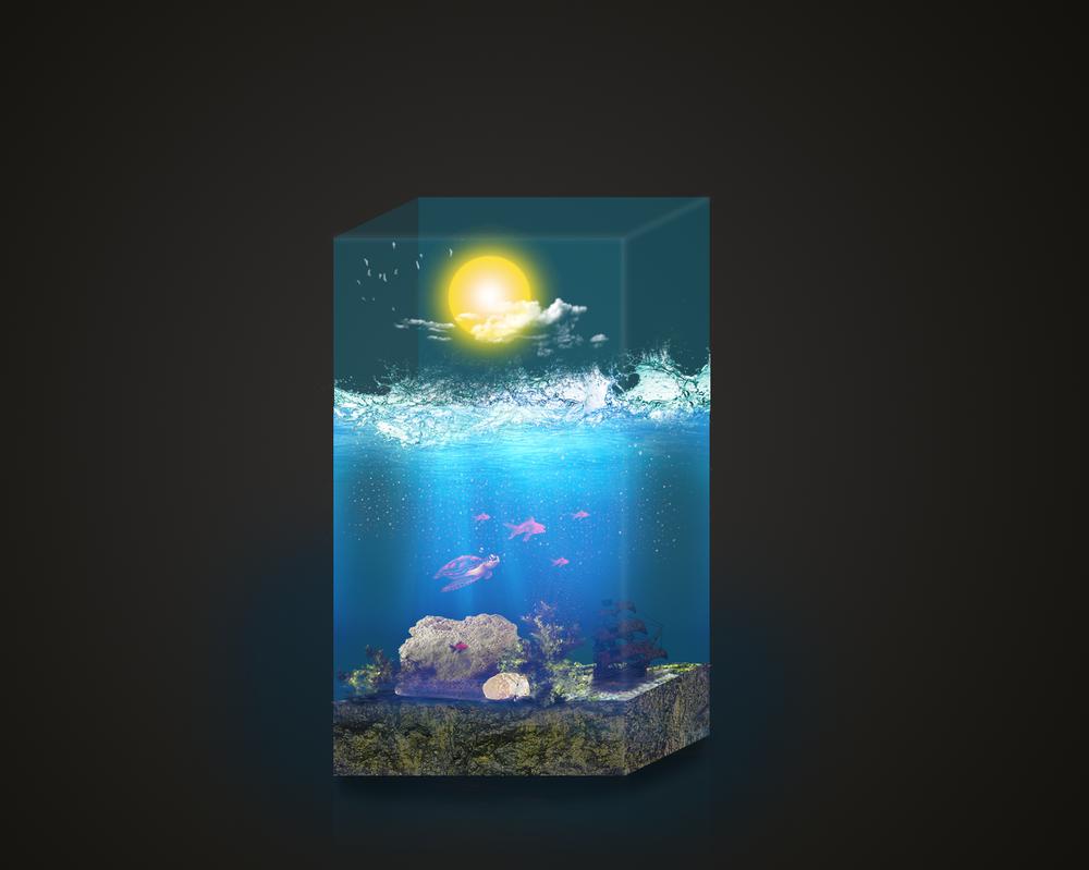 Mini aquarium by LuKzVII