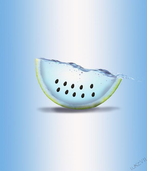 Watermelon PhotoManipulation by LuKzVII