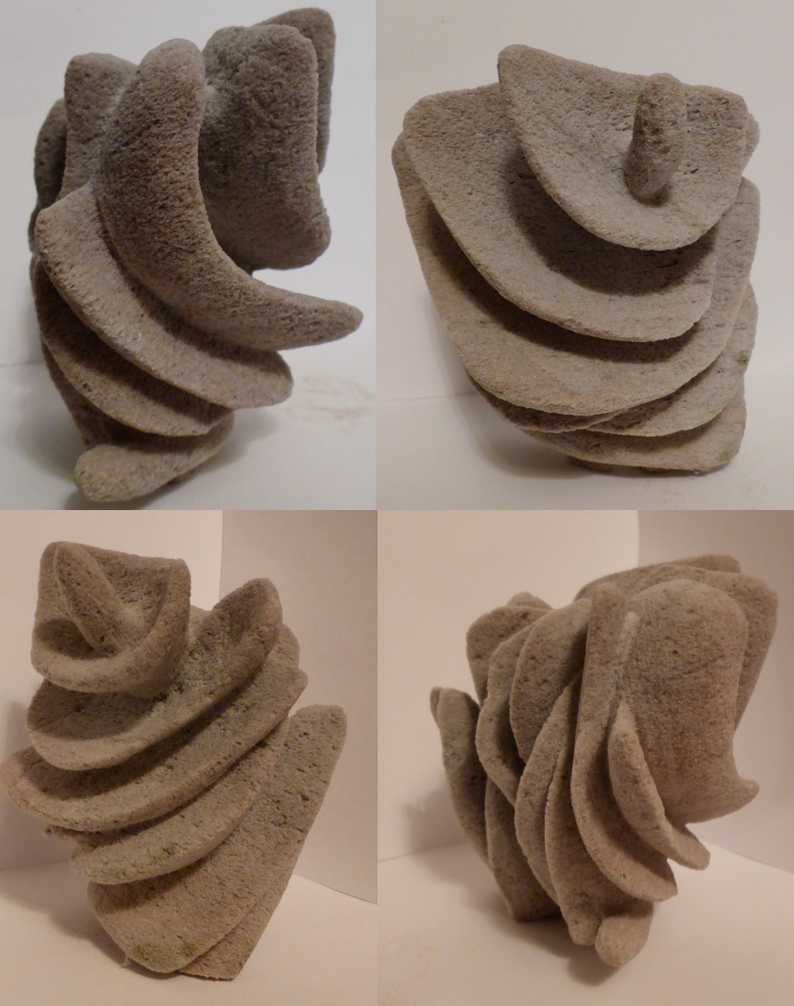 Pumice volcanic rock sculpture by girafferave on deviantart