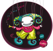 Spooky clown by d-i-a-n-k-a