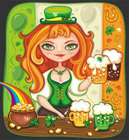 St. Paddy's Day party by d-i-a-n-k-a