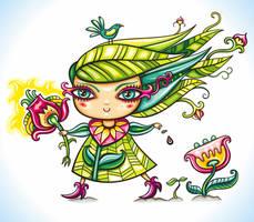 Lady Spring by d-i-a-n-k-a