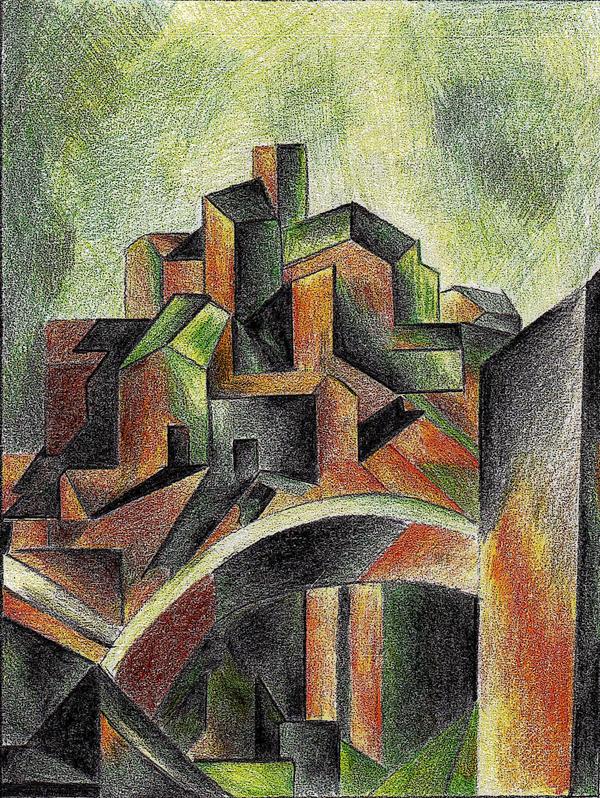 Pablo Picasso  Reservoir Horta by edmund372