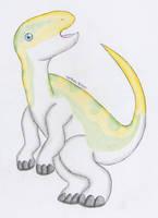 Fukisaurus Chibi by AzurethePanda