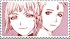Lucciola x Dio Stamp by AzurethePanda