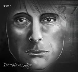 Troubleveryday by DavideZam