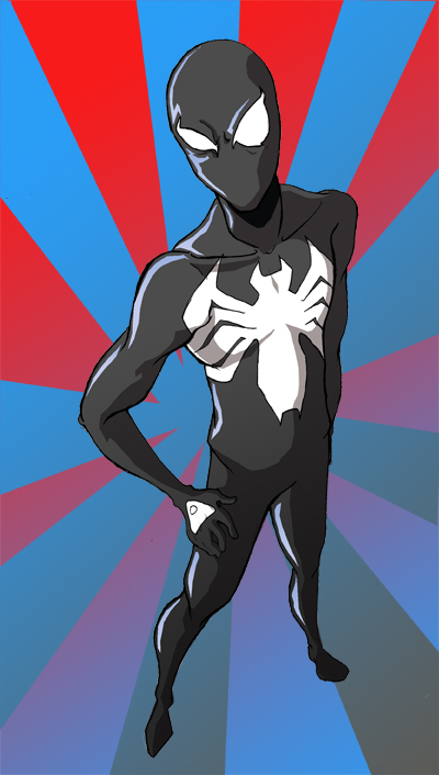 .:Shiny Suit Spidey:. by Moon-Blade