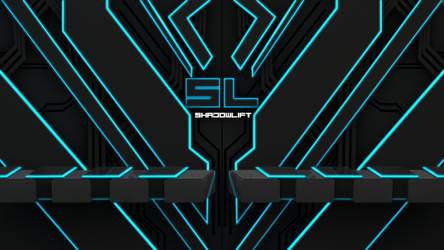 SL-Tron Style 1080p Background by Shadowlift