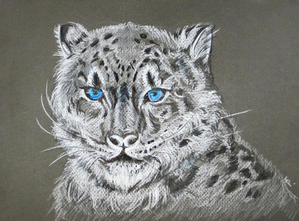 Snow Leopard by kremlindusk
