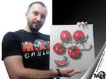 Drawing Tomatoes - Realistic 3D Art