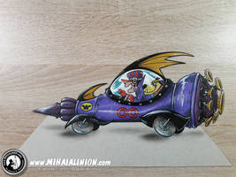 Dick Dastardly and Muttley in the Mean Machine