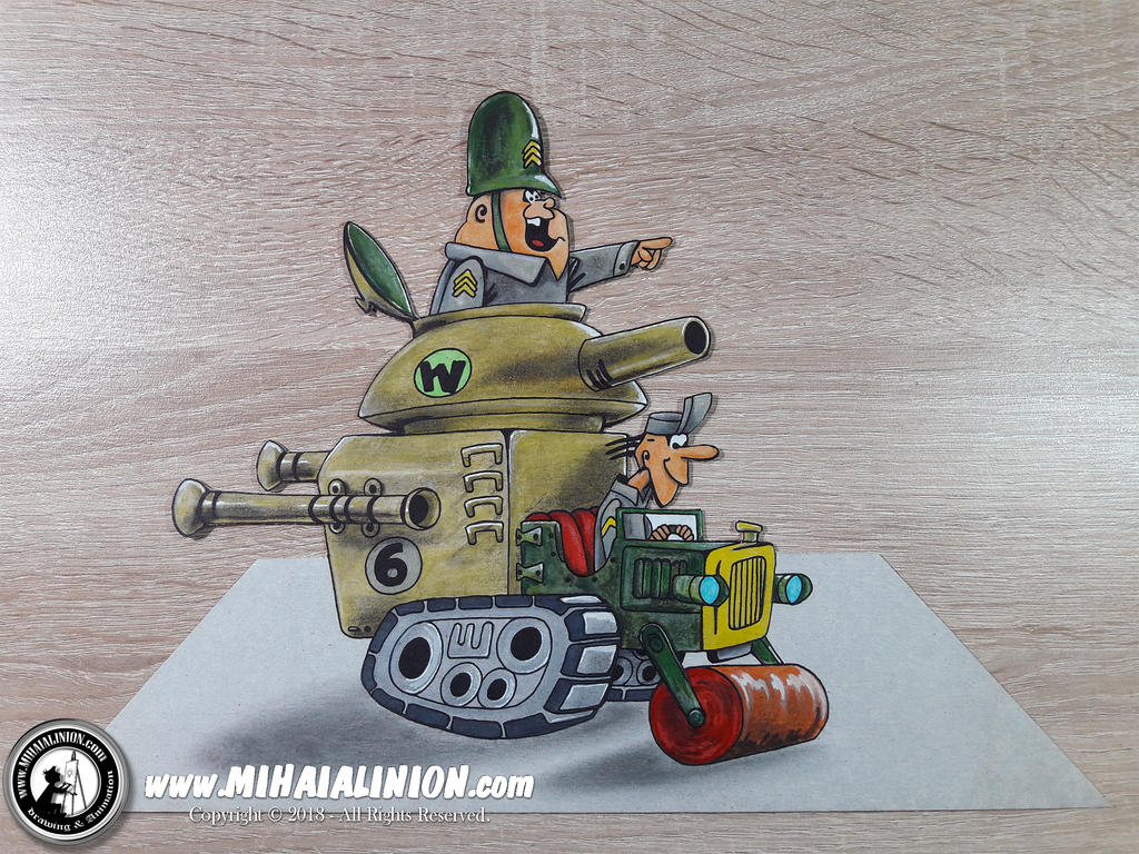 Sergeant Blast and Private - Army Surplus Special
