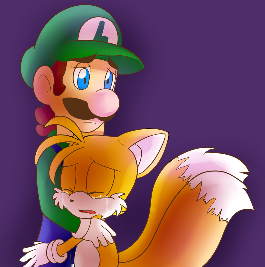 Luigi And Sonic AT: luigi comfo...