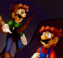 Luigi's Death by BaconBloodFire