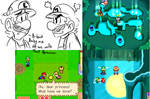 babies!! Mario and Luigi