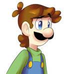 Luigi doodle
