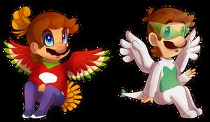 MAri-oh and Luigia