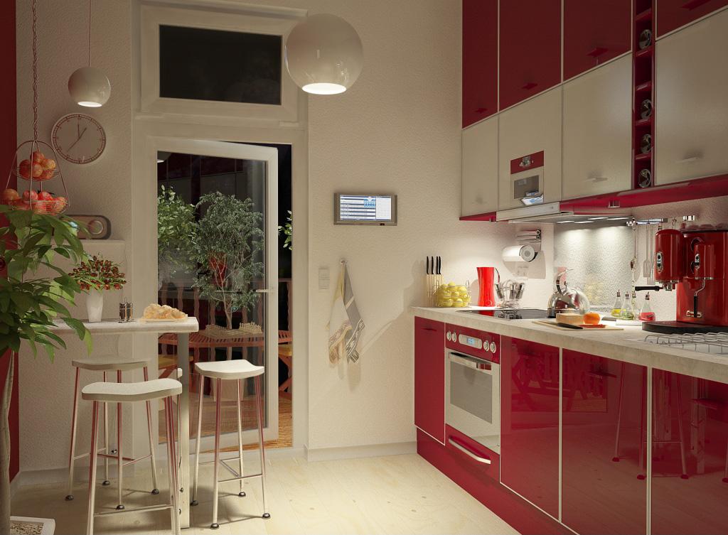 Información Interior_Kitchen___Night___by_Elyathan
