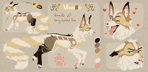 Commission 2 (reference sheet) by Fewtish