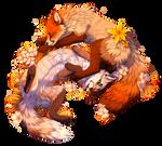 Saffron and Hazel
