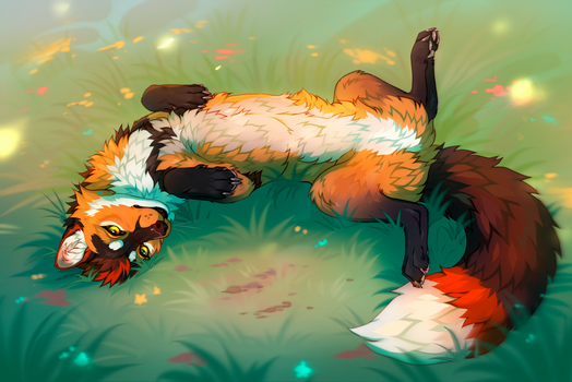 Aizer Fox {sketch}