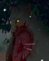 Hunting in the rain {YCH CLOSED}