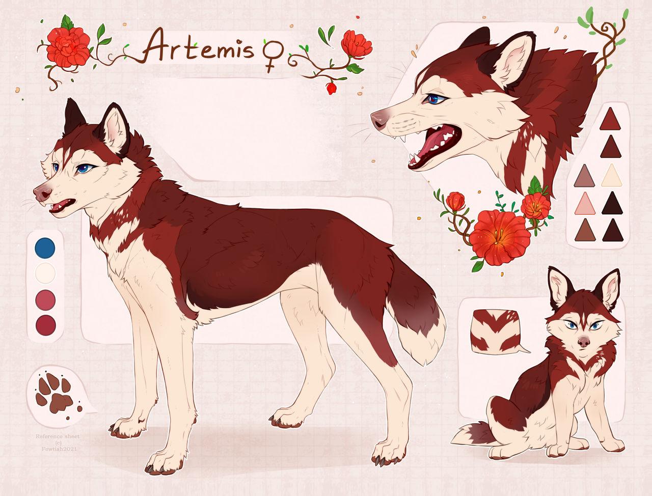Artemis {sketch reference}