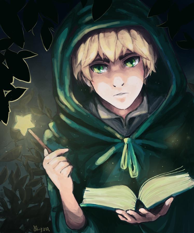 casting a spell by skyna