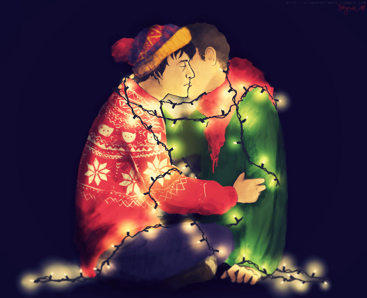 Those christmas lights by skyna on deviantart