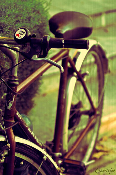 I love my Bike by mariaper