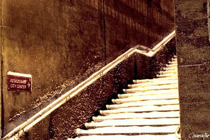 Stairway to Center by mariaper