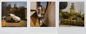 small city polaroids