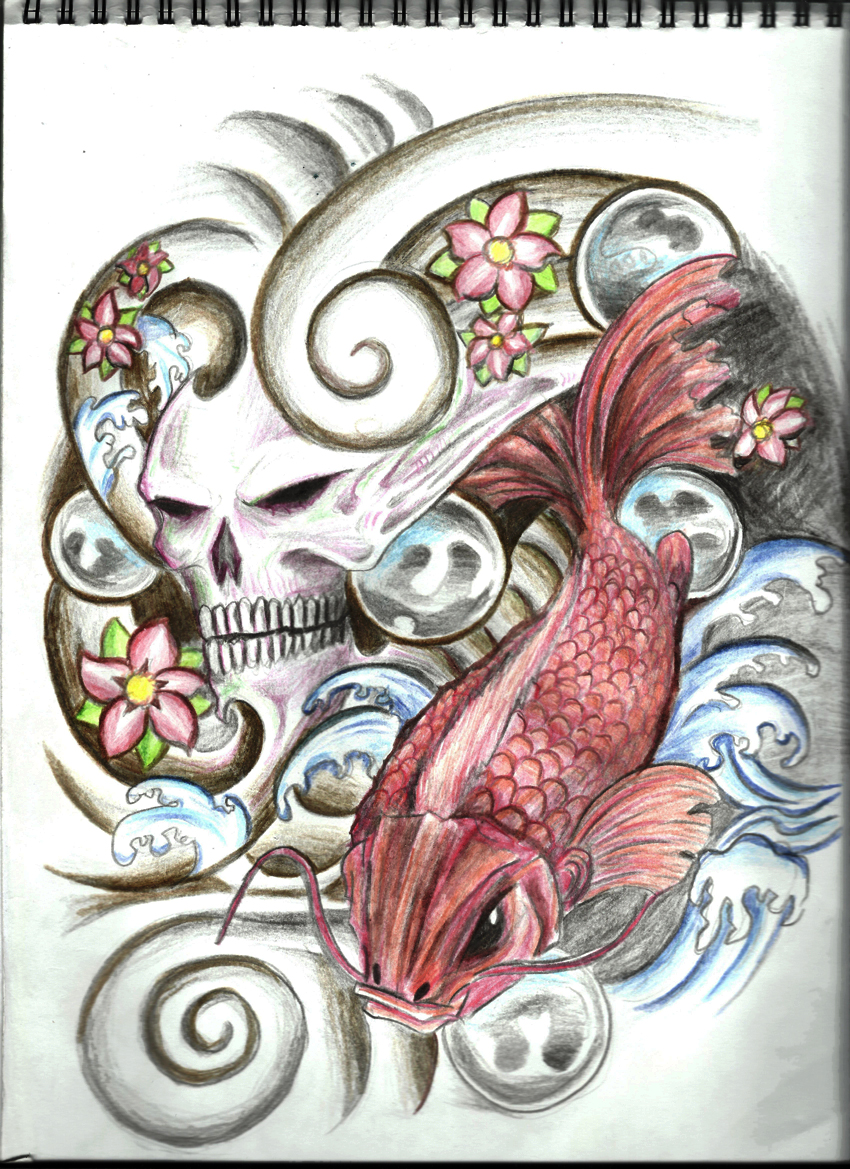 tattoo design freehand drawing by jaxen13 on deviantart. Black Bedroom Furniture Sets. Home Design Ideas