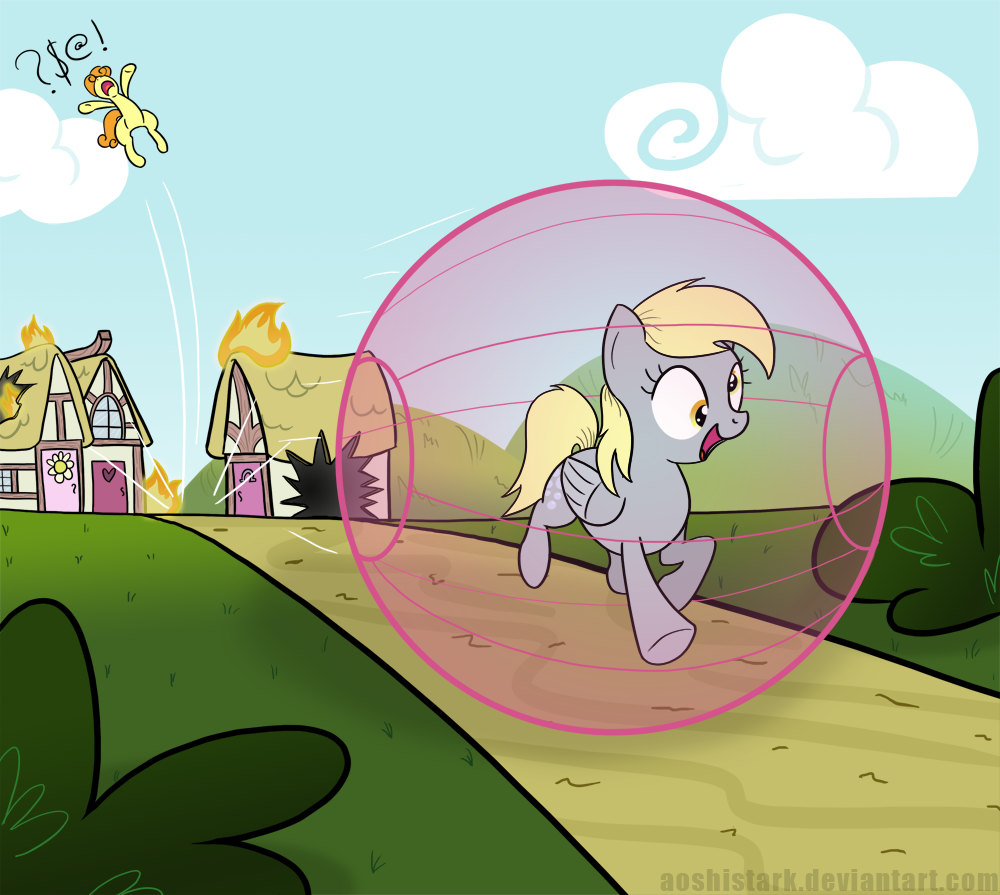 Super Derpy Ball! by aoshistark