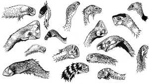 Oviraptorosauria Panoply by Qilong