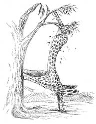 Giraffapteryx by Qilong