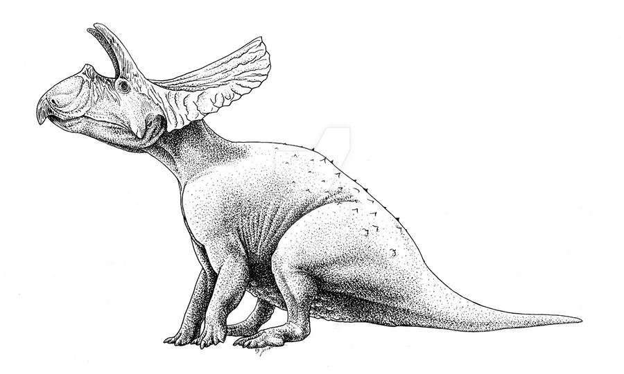 Toroceratops by Qilong