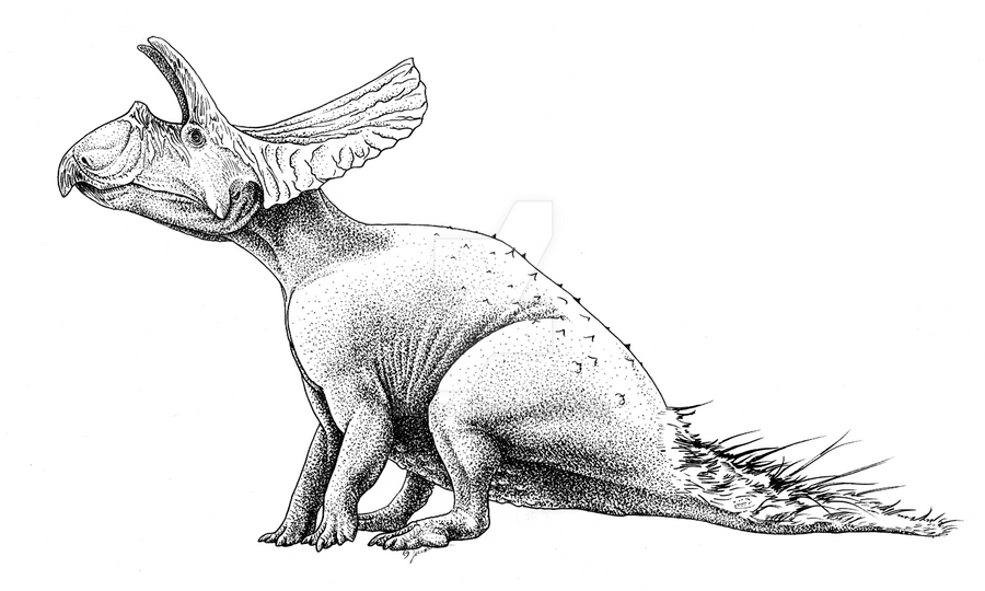Toroceratops Fluffytail by Qilong